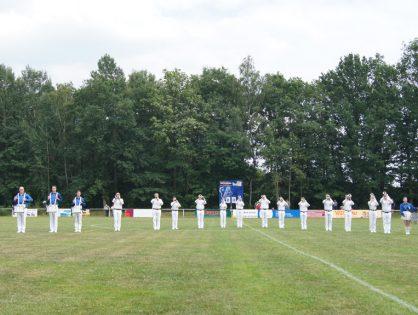 Sommerfest SV Blau-Weiß 90 Greiz - mit unserem Auftritt danken wir für die Unterstützung