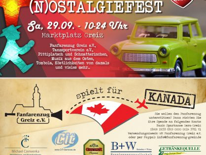 (N)Ostalgiefest in Greiz voller Erfolg