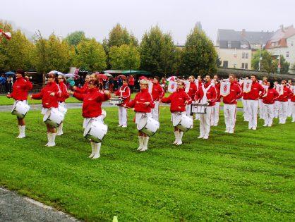 Fanfarenzug Potsdam berichtet über die Teilnahme zum 50. Geburtstag des Greizer Fanfarenzug e.V.