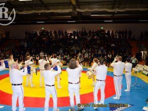 Finalkampf Regionalliga Mitteldeutschland Ringen – Fanfarenzug Greiz heizt ein