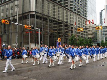 WM 2019 Tag 5 - Calgary Stampede Parade und Drumline-Battle